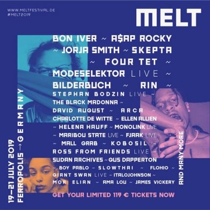 Pierwsze ogłoszenia Melt Festivalu 2019