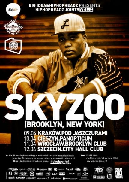 Skyzoo, Brooklyn, New York w Cieszynie